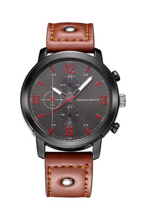 Newchic Men Watches - Leather Band Sport Watch