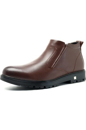 Newchic Men Ankle Boots - Men Warm Lining Snow Ankle Boots