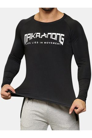 Newchic Mens Bodybuilding Quick-drying Fitness T-shirt
