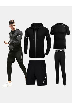 Newchic Four-piece Joggers Sport Suits
