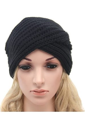 Newchic Women Warm Knitted Turban Hats