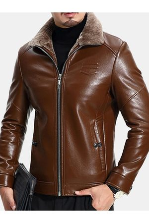Newchic Shinny Faux Leather Jacket