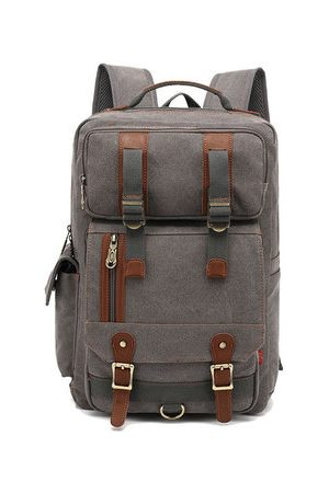 Newchic Canvas Large Capacity Travel 16 Inches Laptop Backpack