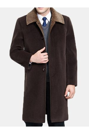 Newchic Mens 100% Cashmere Wool Coat