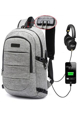 Newchic Men Laptop Bags - 17 Inch Anti-theft Backpack For Men
