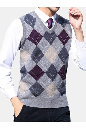 Newchic 100%Wool Business Casual Sweater Vest