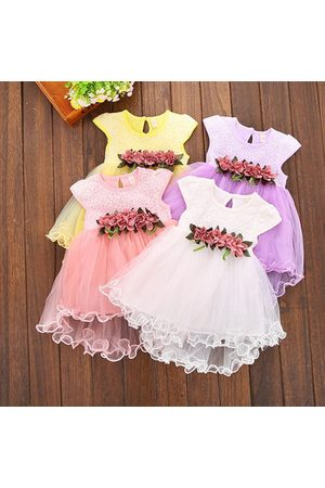 Newchic Cute Baby Girls Summer Floral Dress