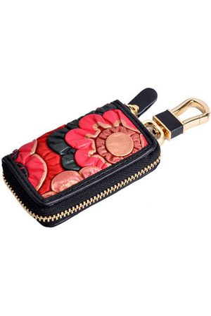 Newchic Brenice Vintage Casual Floral Coin Purse Key Case For Women