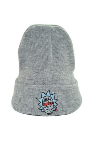 Newchic Knitted Thick Rick and Morty Beanie Hats