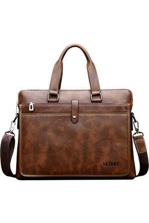 Newchic Vintage Business 14″ Laptop Bag Handbag Corssbody Bag