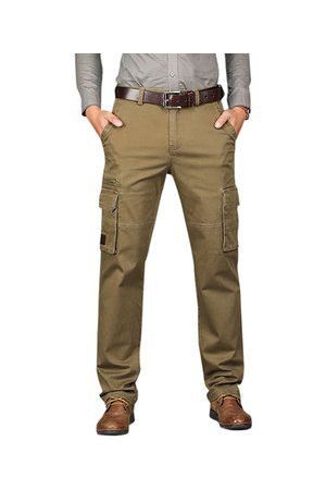 Newchic Business Casual Straight Cargo Pants