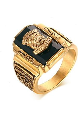 Newchic Tiger Head Ring for Men