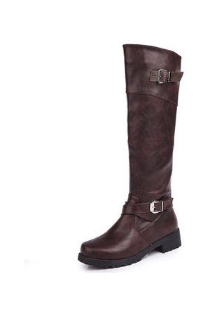 Newchic Large Size Knee High Boots