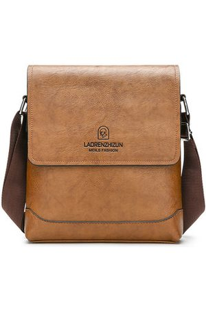 Newchic Men Laptop Bags - PU Leather Business Casual Crossbody Bag For Men