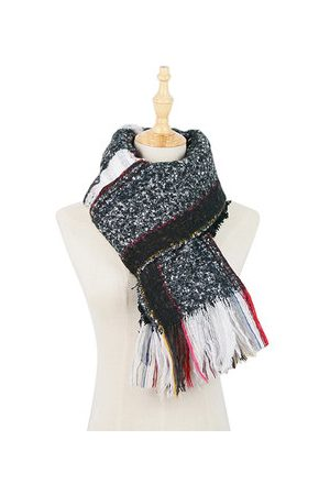 Newchic Colourful Brushed Lattice Casual Scarf