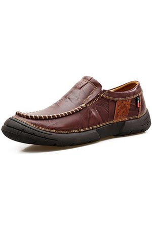 Newchic Men Slip-Ons Leather Loafers