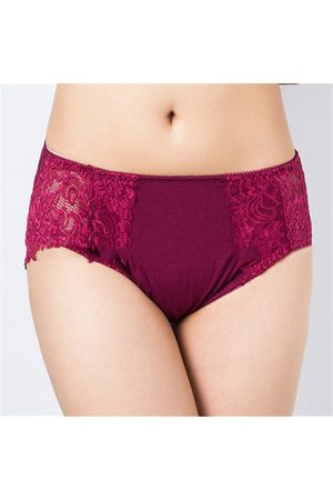 Newchic Women Modal Hollow Out Breathable Briefs