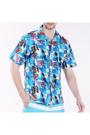 Newchic Men Casual - Hawaiian Style Casual Beach Printing Breathable Dress Shirts for Men