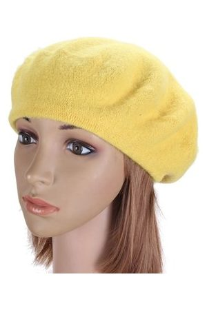 Newchic Vintage Unisex Solid Warm Wool Berets Ski Hats French Style Beanie Cap