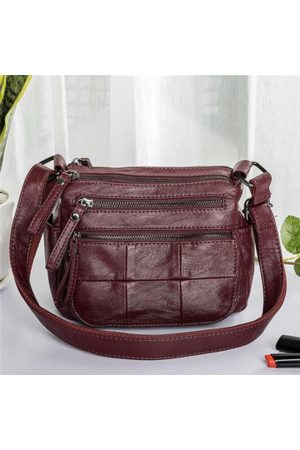 Newchic Women Multi-Pockets Concise Crossbody Bags
