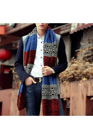 Newchic Twist Muti-color Lengthened Soft Warm Vintage Knitted Scarve