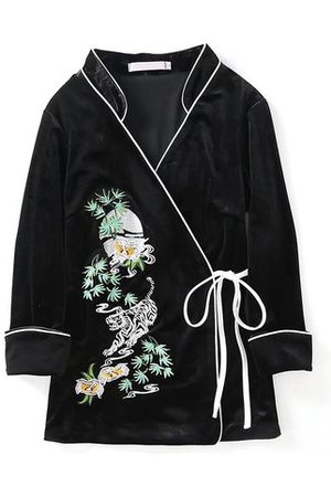 Newchic Ethnic Printed Long Sleeve Coats