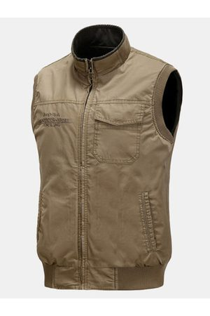 Newchic Outdoor Casual Multi-Pocket Fishing Waistcoat