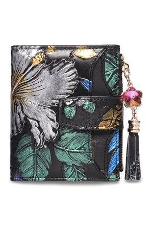 Newchic Women Wallets - BRENICE Vintage 11 Card-slots Floral Coin Purse Wallet