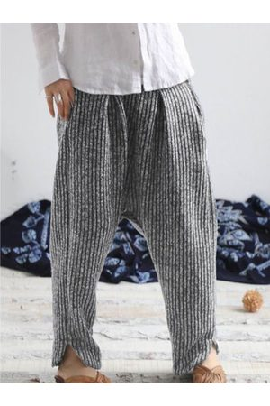 Newchic Vintage Side Splited Women Pants