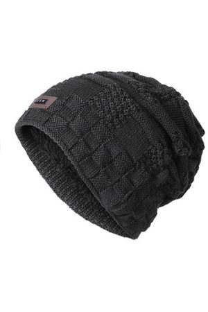 Newchic Men Warm Windproof Thick Knitted Beanie Caps