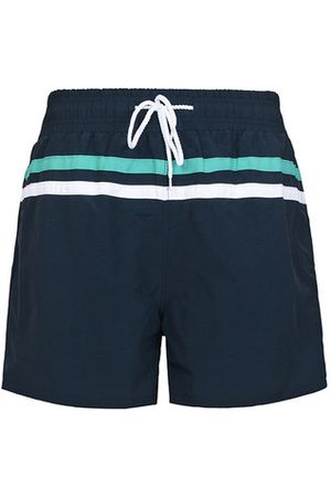 Newchic Men Shorts - Summer Beach Quickly Dry Sports Loose Stripes Board Shorts for Men