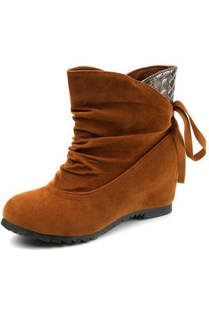 Newchic Soft Casual Suede Ankle Boots