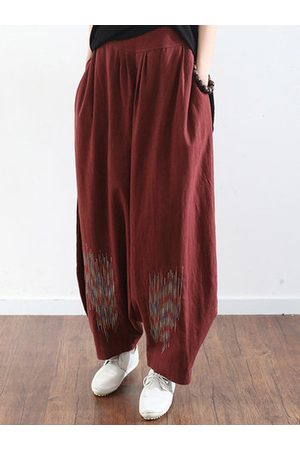 Newchic Embroidery Harem Pants For Women