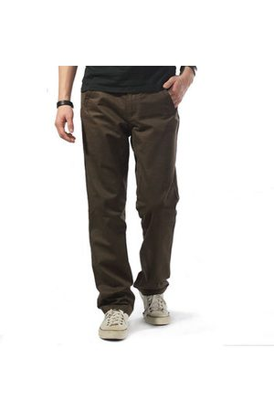 Newchic Men Cargo Pants - Plus Size Overalls Loose Fit Cotton Solid Color Casual Cargo Pants For Men