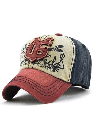 Newchic Cotton Embroidery Patchwork Baseball Cap