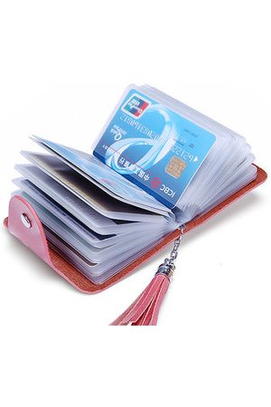 Newchic Women Wallets - Genuine Leather Multi-slots Card Holder