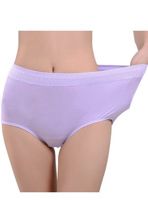 Newchic Jacquard Briefs Modal Thick Middle-waisted Panties