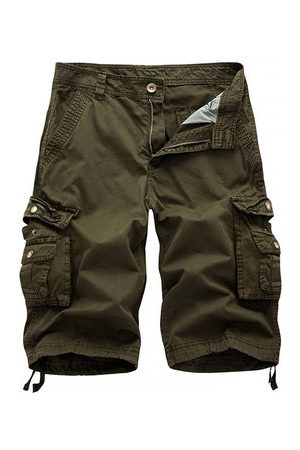 Newchic Multi-pocket Cotton Casual Cargo Shorts