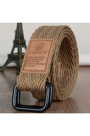 Newchic 108cm Durable Canvas Belts Breathable Sweat Quick Dry