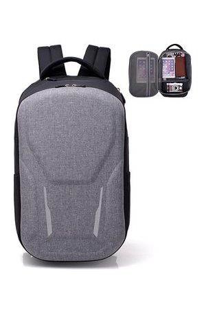 Newchic Men Large Capacity Outdoor Travel Casual Laptop Bag Backpack