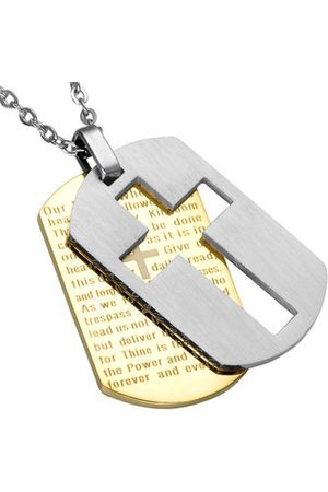 Newchic Bible Cross Unisex Charm Necklace