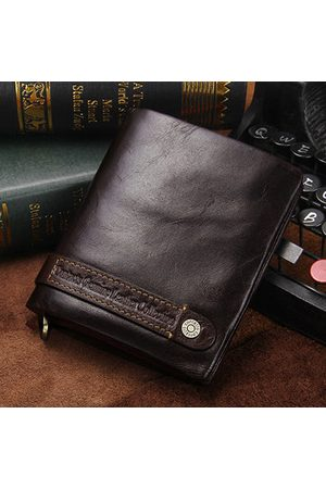 Newchic Vintage Genuine Leather Multi-functional Wallet For Men