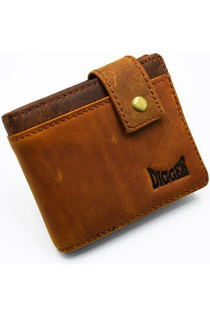 Newchic Vintage Genuine Leather 11 Card Slots Trifold Wallet For Men