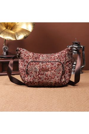 Newchic Brenice Flower Shoulder Bags Front Pocket Crossbody Bags