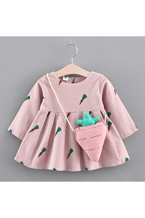 Newchic Baby Girls Cartoon Pattern Dress