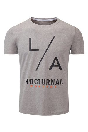 Newchic 100%Cotton Breathable Printed T shirt