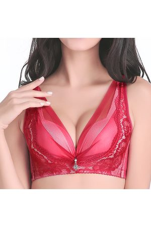 Newchic Plunge Wireless Crocheted Gauze Bras