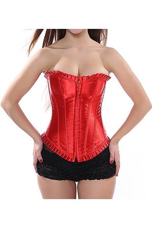 Newchic Plus Size Satin Belly Control Corset