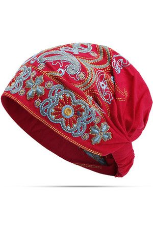 Newchic Embroidery Ethnic Cotton Beanie Hat
