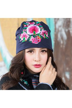 Newchic Cotton Breathable Embroidery Beanie Hat